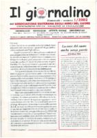Giornalino n. 1 – 2002